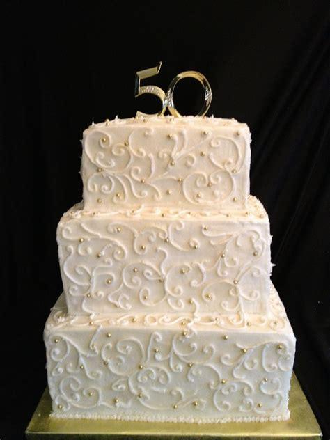 50th anniversary cake   Jen Failla's Cakes   50th