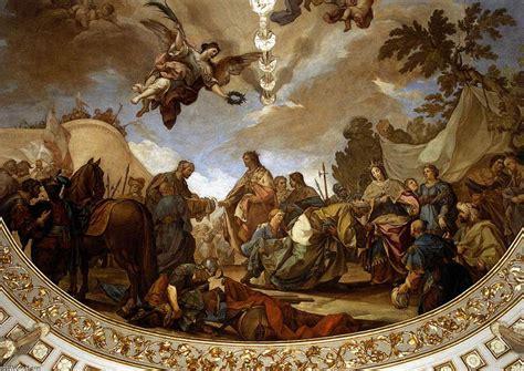 fresco techo techo fresco detalle frescos de francisco bayeu y
