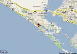 panama city florida on a map map of sterling panama city
