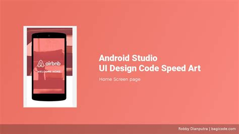 home design for android home screen android studio ui design speed xml
