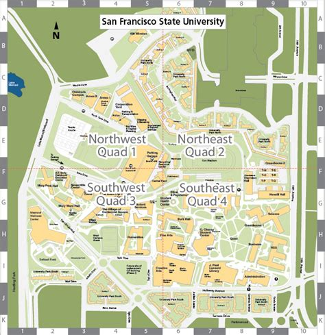 sfsu map san francisco state c map
