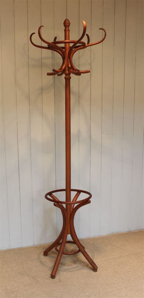 Antique French Bookcase 1920s Bentwood Hat And Coat Stand Antiques Atlas