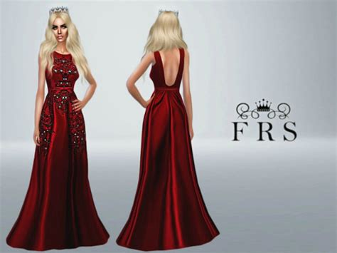 sims 4 royalty dresses woman s dream dress at fashion royalty sims 187 sims 4 updates