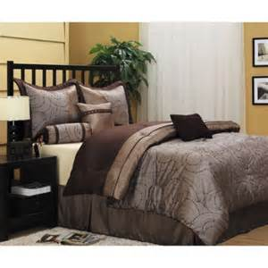 King Size Bed Sets Walmart Dionne 7 Comforter Set Walmart