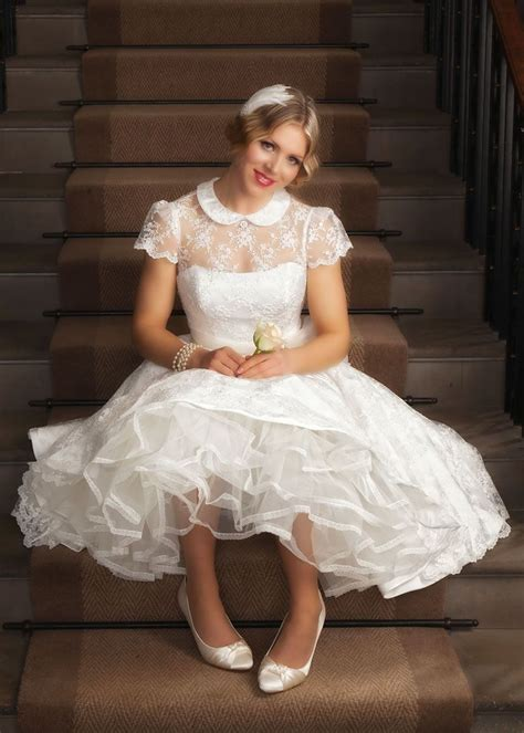 Best Short Wedding Dresses for 2019   Petticoat Pond