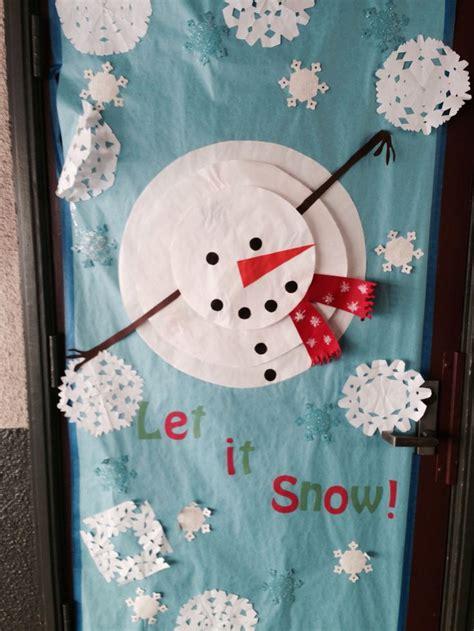 Decorating Ideas For January Classroom Door Decoration January