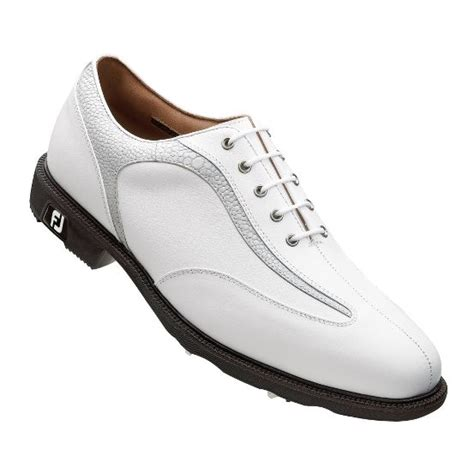 footjoy mens icon golf shoes 52016 white white ebay