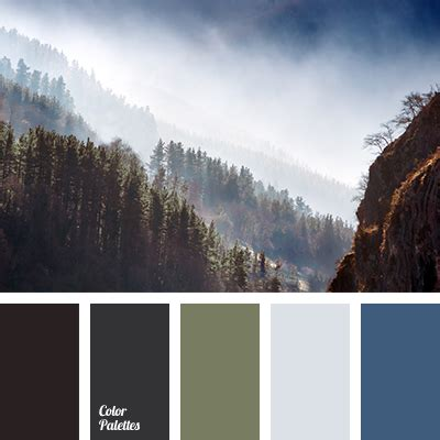 the colors of the mountain mountains fog color color palette ideas