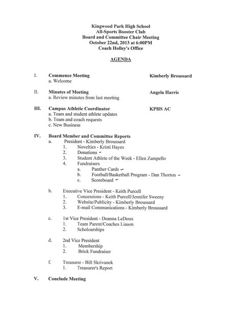 booster club bylaws template committee agenda template search results calendar 2015