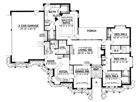 creative floor plans the douglas 8202 4 bedrooms and 2 baths the house