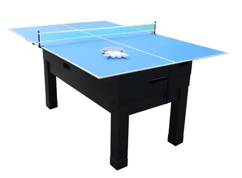 13 in 1 combination game table in black the danbury
