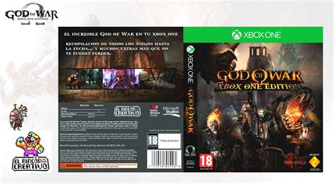 Edition Of One by God Of War Xbox One Edition By Elrinconcreativo On Deviantart