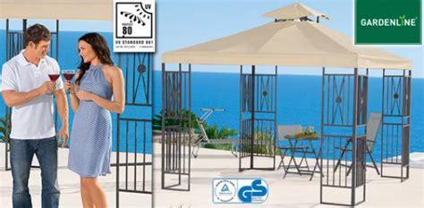 gartenpavillon angebot gardenline 174 aluminium gartenpavillon aldi s 252 d ansehen