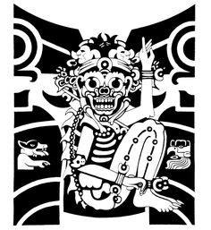 100 aztec gods designs a page 59 of 78 aztec gods mictlantecuhtli aztec god of aztec