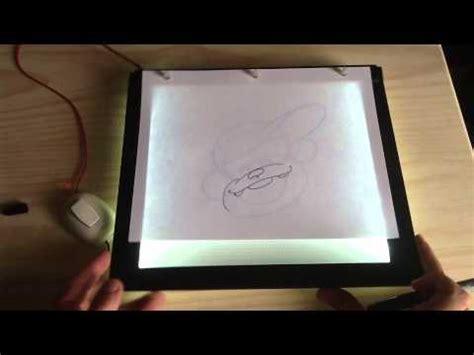 como dibujar con luz inker mesa de luz ultra delgada youtube