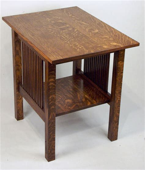 mission style  table woodworking plans