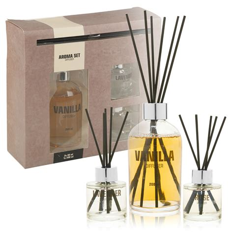 fragrance diffuser l fragrance reed diffuser aroma gift set 3 scents fragrant