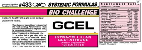 Systemic Formulas Intracellular Detox System by Systemic Formulas Gcel And Bind Intracellular