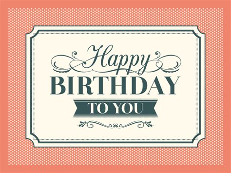 retro birthday card template retro birthday card vector free vector graphic