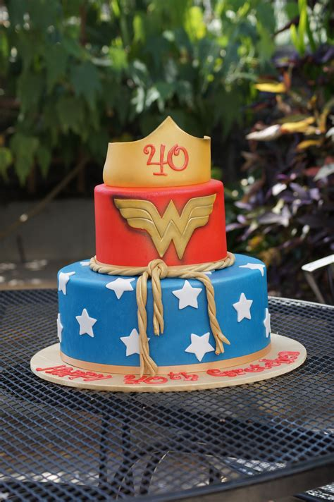 themed birthday cakes for adults tiered wonder woman themed birthday cake adult birthday