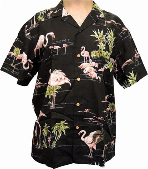 Flöhe In Der Wohnung 3552 by Original Hawaiihemd Flamingo Schwarz Paradise Found