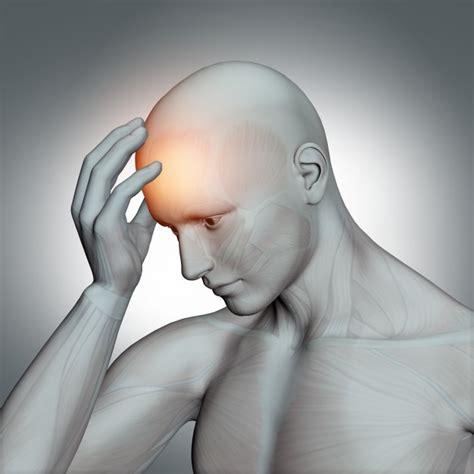 figure 3d 3d human figure with headache photo free