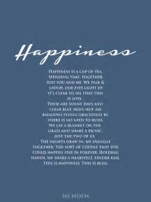 a poem about happiness ms moem poems life etc