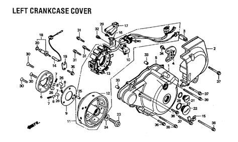honda rebel parts diagram 1985 honda rebel 250 headlight wiring diagram 45 wiring