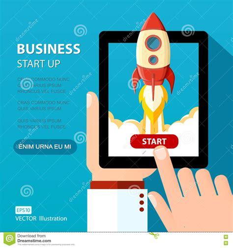 free illustration startup start up business start vector business start up illustration space rocket launch