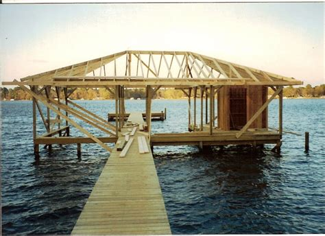 boat house construction boat houses davidson builders serving tatum henderson
