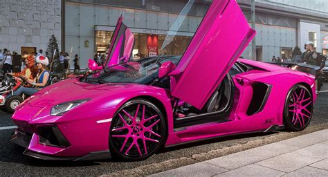 Pink Lamborghini Aventador Turns Heads In Carscoops