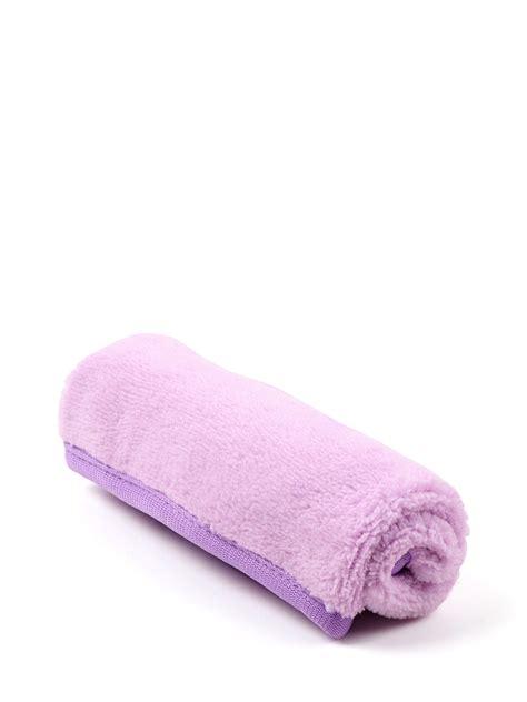 makeup remover towel purple manicare