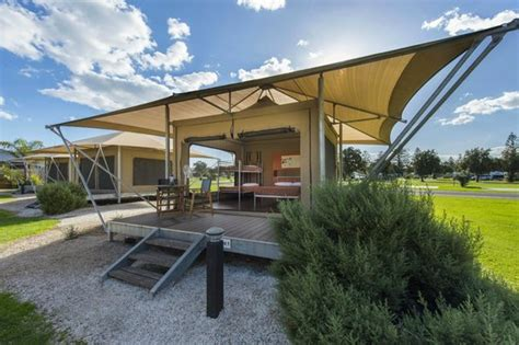 West Caravan Park Cabins by Executive Cabin Exterior Picture Of Adelaide Shores