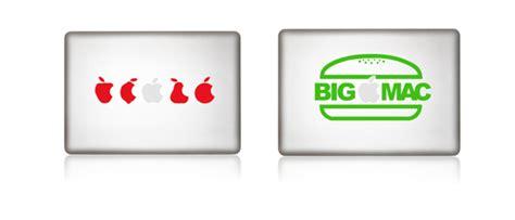 Apple Pay Aufkleber by Apfelkleber Deko Sticker F 252 R Dein Macbook Zum Sonderpreis