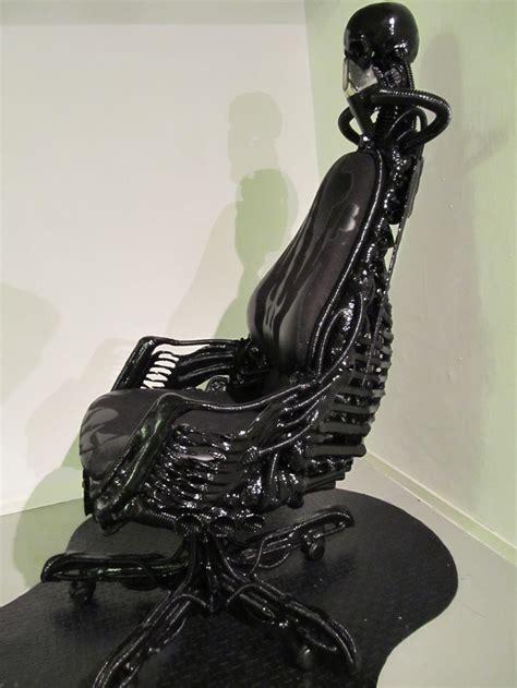 Mechanical Chair by Biomechanical Chair By Decoartwerknederland On Deviantart