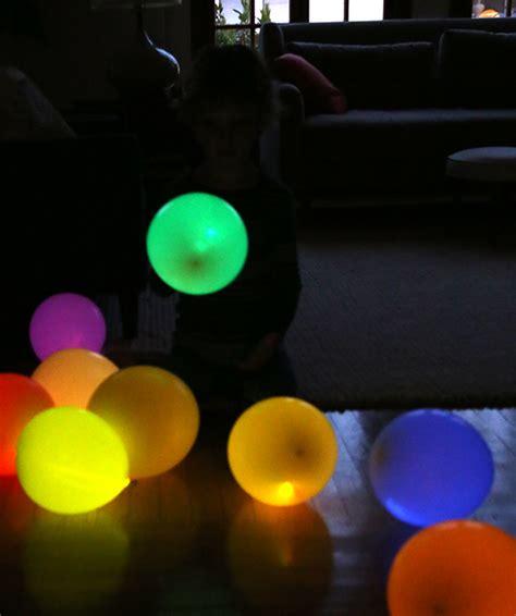 Diy glow stick balloons say yes