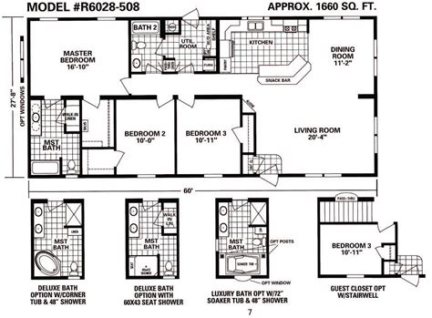 schult floor plans schult timberland 6028 508 excelsior homes west inc