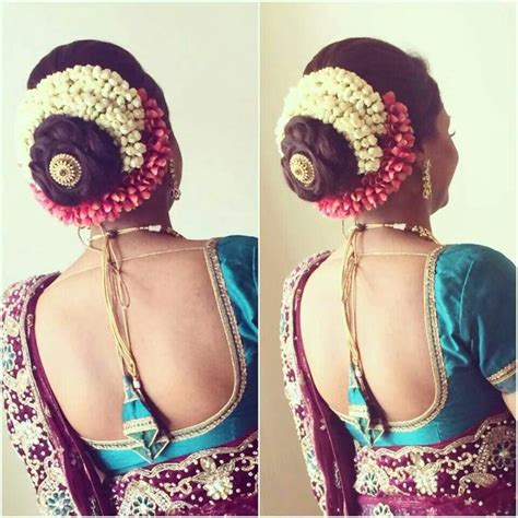 Indian Bridal Hairstyles With Flowers by South Indian Bridal Hairstyles For Hair With Flowers