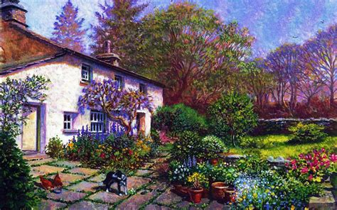 dog house garden house garden dog hens blumen hintergrundbilder house garden dog hens blumen frei fotos