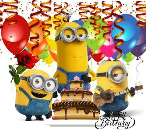 imagenes de minions happy birthday pin by jenny dame on birthday wishes pinterest happy