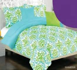 girls green bedding teal and green bedding green amp turquoise teal blue