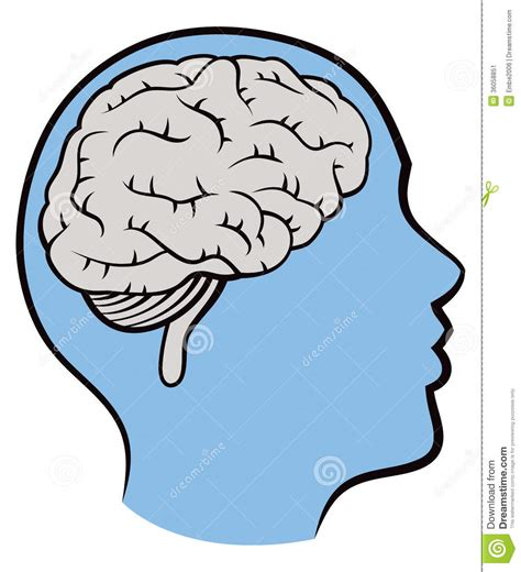 Free clip art of a brainy guy