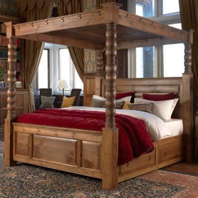 Four Poster Bed by Beds Richard Heath Furniture