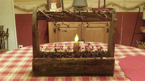 Country home decorating ideas primitive toolbox michelle s country
