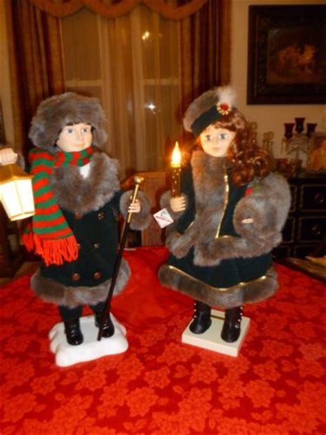 christmas motionettes animated doll vintage telco motion ette lighted animated doll w box