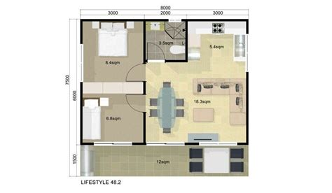 2 bedroom guest house plans guest house floor plan 2 bedroom guest house pinterest