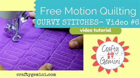 free motion quilting tutorial youtube free motion quilting tutorial series video 6 practicing