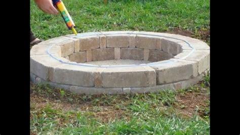 pit bricks home depot pit ideas
