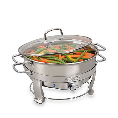 chafing dish bed bath and beyond bella cucina 5 quart electric chafing dish bed bath beyond