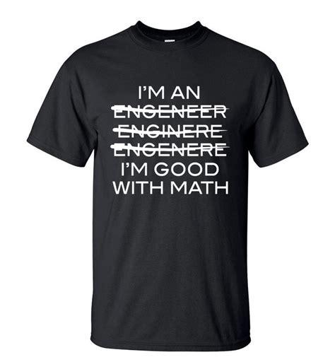 New Tshirt T Shirt Engineer 1 Xxxl Hitam Kaos Distro Trust Me Im slogan t shirt i m an engineer i m with math casual streetwear o neck tshirt 2018